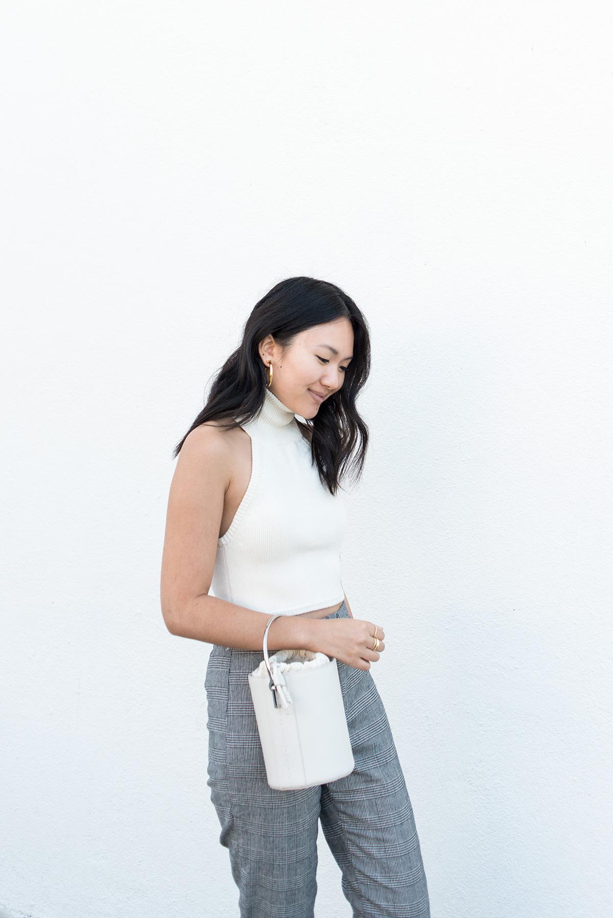 halter sweater